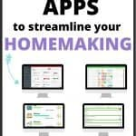4 productivity apps to streamline your homemaking