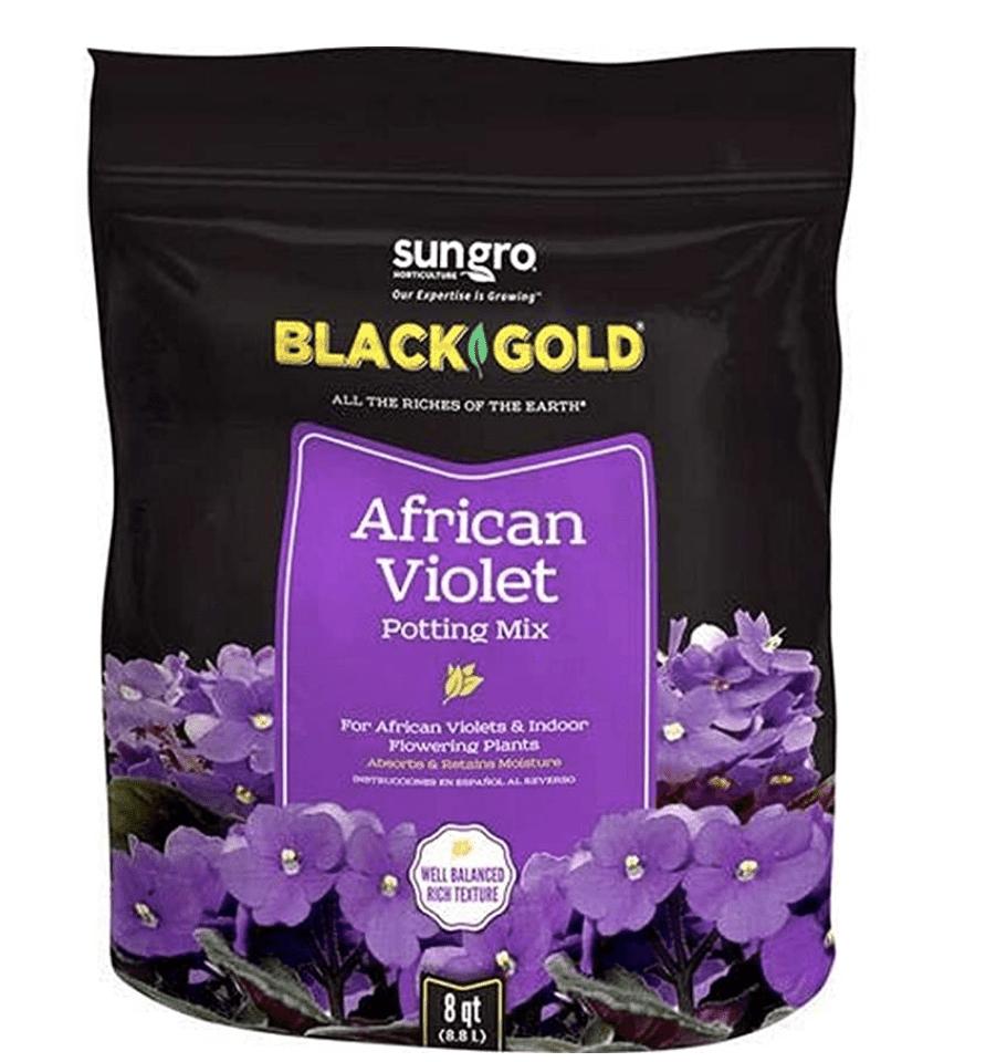 Black Gold African Violet Potting MIx