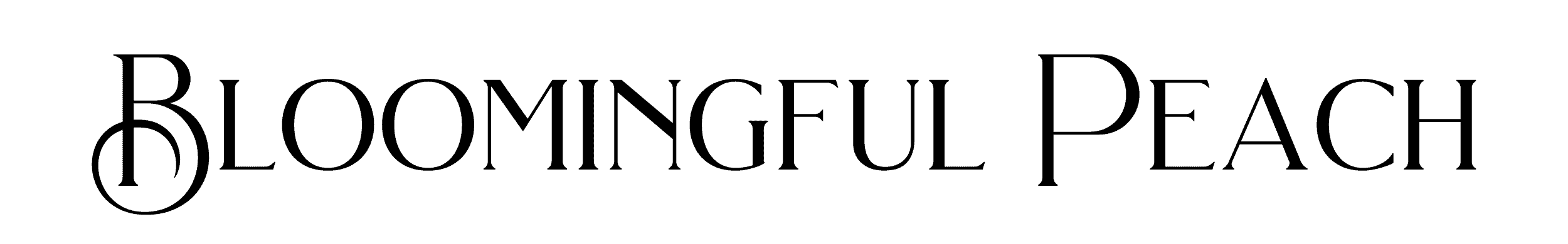 bloomingful peach digital planners designed to boost your mood