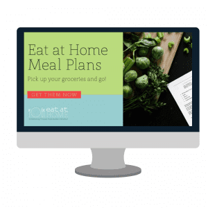Stop worrying what you need to make for dinner. Let Eat at Home Meal Planning do the dirty work for you.