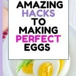 How to make the perfect shaped egg