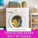 Cleaning, disinfecting and sanitizing the washer and dryer should be done monthly. This is the how you clean the washer and dryer to maintain the life of your machine and clothes