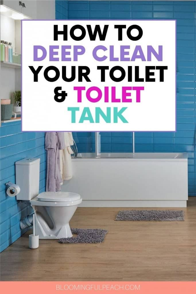 This is how you deep clean a toilet and tank