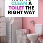 This is how you clean toilet stains
