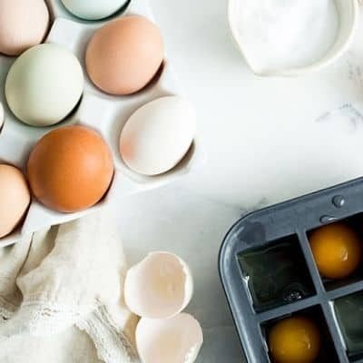 How to freeze eggs courtesy of the slow roasted italian