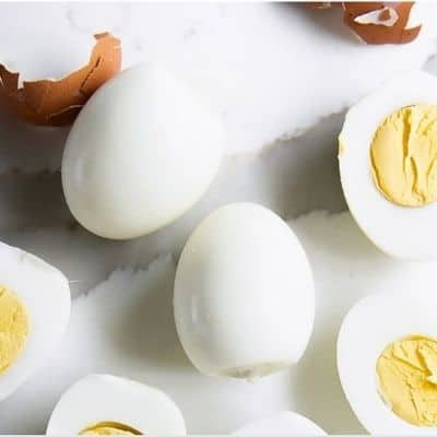 HOW TO MAKE PERFECT HARD BOILED EGGS EVERYTIME. IMAGE COURTESY OF THE FORKED SPOON
