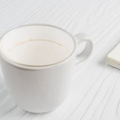 HOW TO REMOVE DRIED ON COFFEE STAINS FROM MY COFFEE MUG