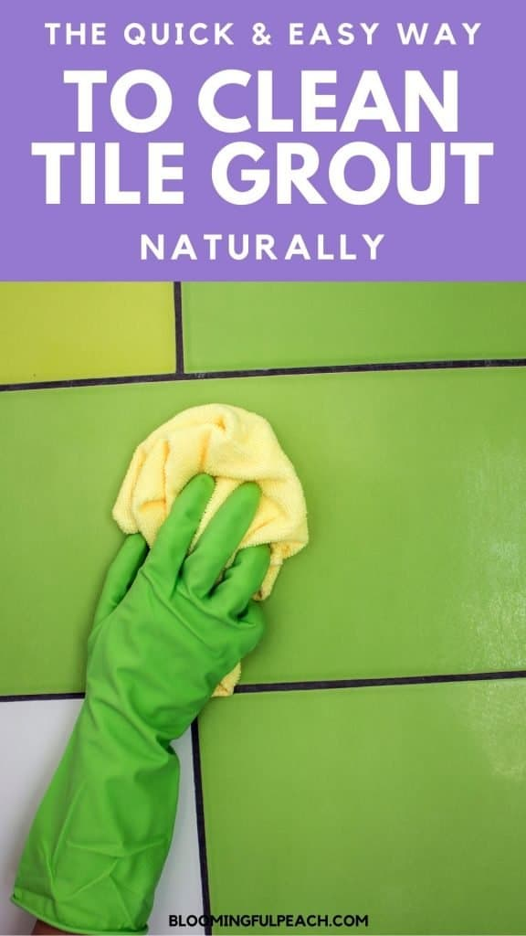 Cleaning grout is easy when you have the right supplies. Forget harsh chemicals. You can clean grout naturally by using household products you already have.