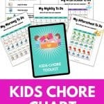 Kids chore toolkit. Every kid wants to be in control of the tasks they do, and this bundle pack is exactly what they want.
