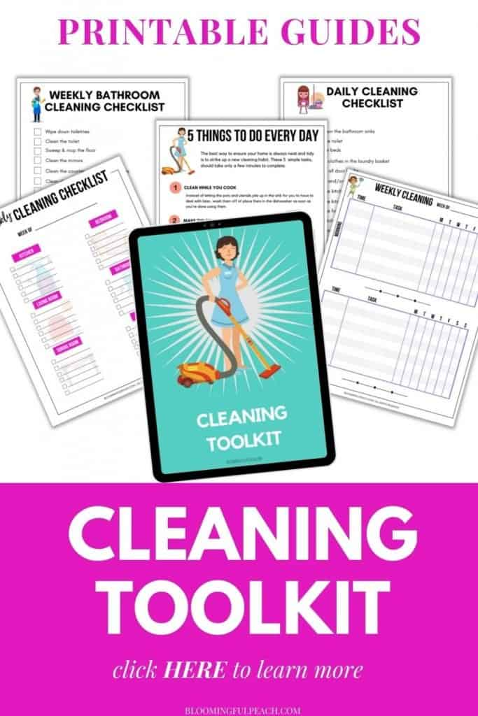 Printable Cleaning Toolkit Checklist