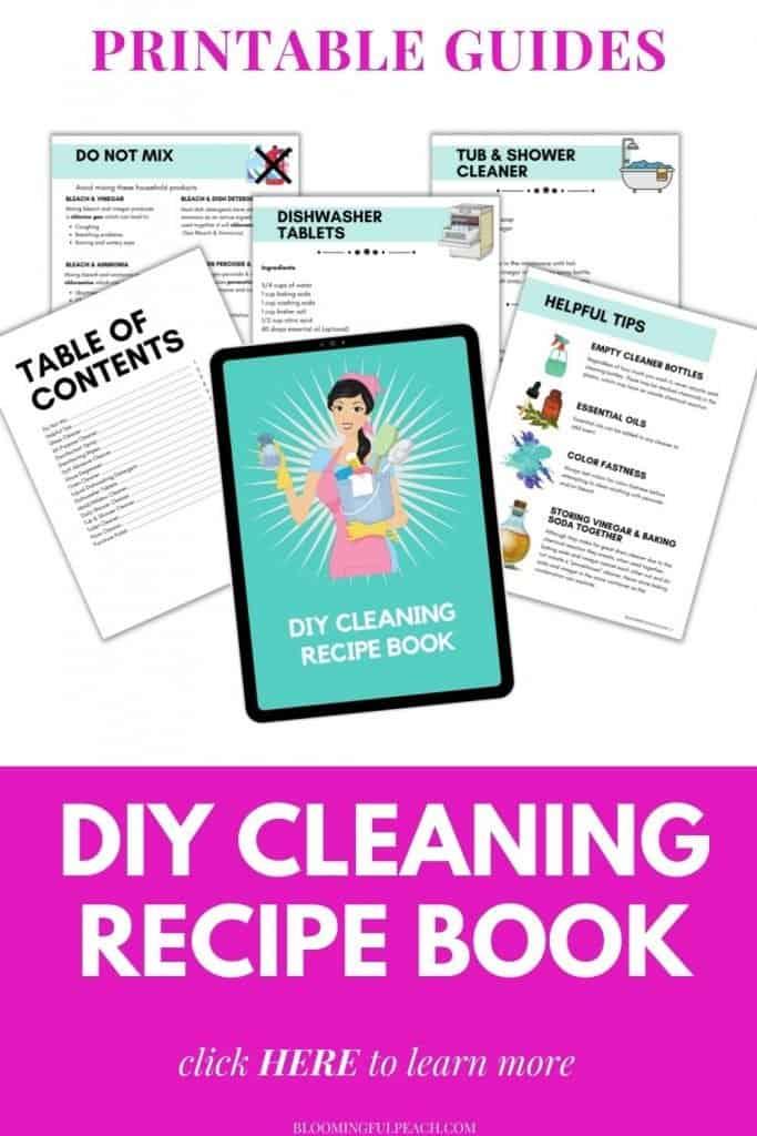 DIY Cleaner Recipe Book