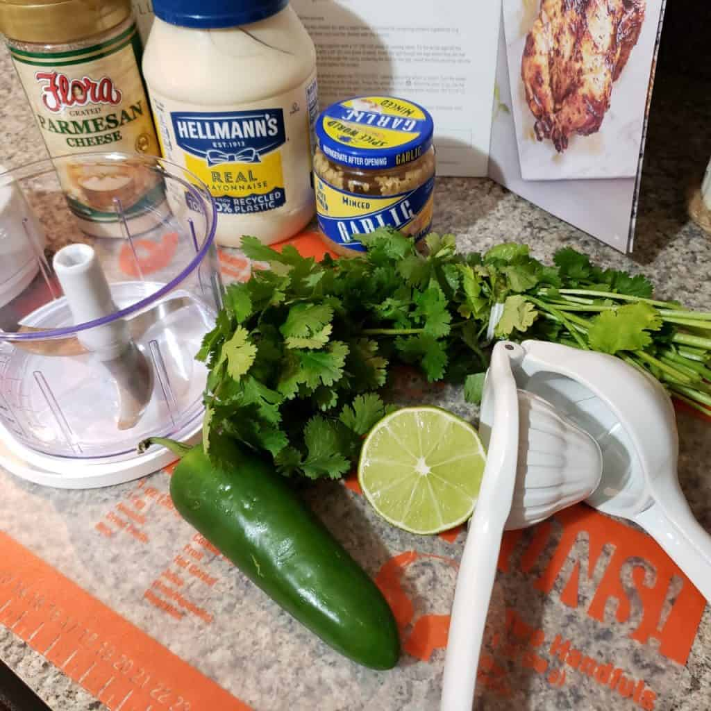 Peruvian Green Sauce Ingredients Pampered Chef Manual Food Processor