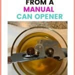 This is how you remove rust from a can opener