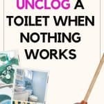 Toilet clogs can sometimes be a homemaker's worst nightmare, as they typically happen at the most inopportune times. Find out the exact process of how to unclog your toilet quickly; without having to rely on your husband or plumber to do it for you.