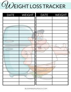 lose 5 pounds fast weight tracker man