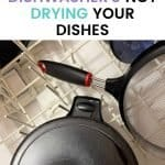 why are my dishes still dirty after dishwasher. this is the real reason why your dishwashers not drying dishes. Have you ever wondered why water puddles on the bottoms of bowls, and cups once the entire dishwasher cycle is completed? Read on to learn the mysterious reasons why your dishwashers not drying dishes.