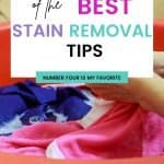 Learn how to remove 13 of the toughest stains you'll ever run up against. These stain removal tips will make tackling stains easy. Remove baby formula, grease..