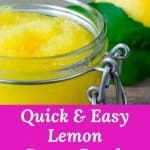 Who doesn't love a good sugar scrub. Did you know making your own sugar scrubs saves you money. Learn how to make the easiest and zestiest lemon sugar scrub that will ever touch your body.