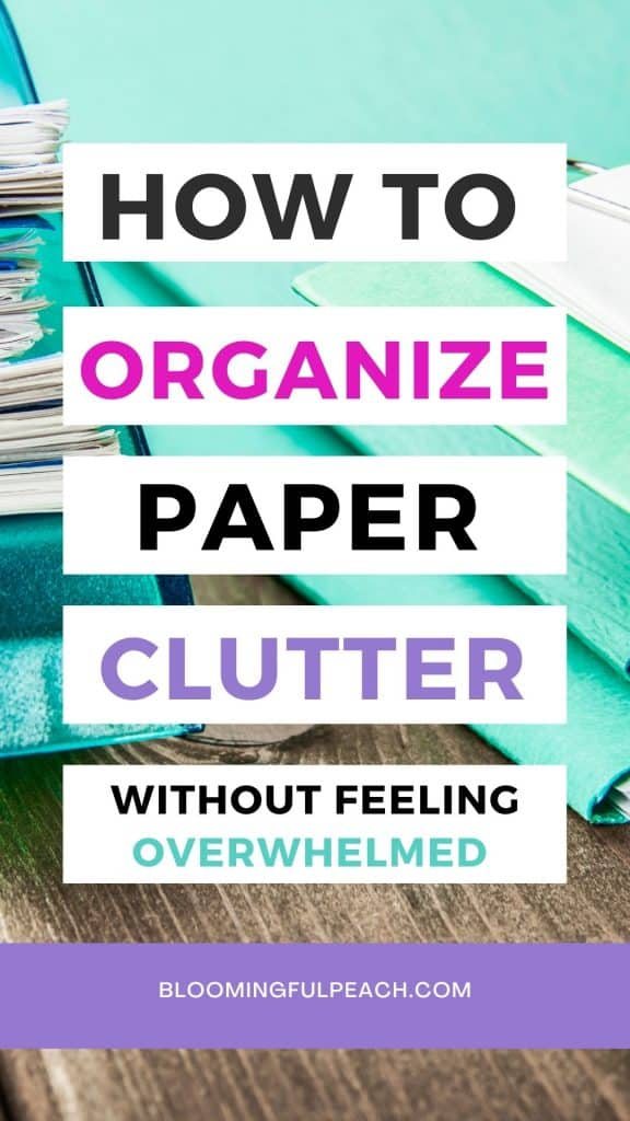 Learn the techniques of how to digitize and organize your paper clutter to keep your home clutter-free. The easiest way to reduce paper clutter is to digitize