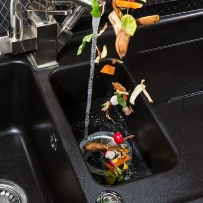 how to clean out a garbage disposal