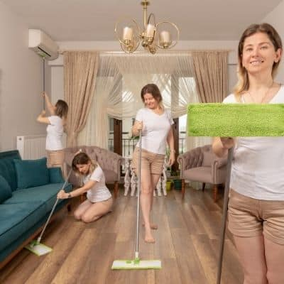 How to clean your house fast when you work full time. Keeping a clean home while working full-time has its challenges. Learn how to clean your house fast when you work full time. These quick steps will help you clean your house fast