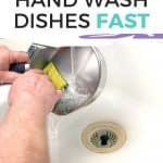 Hand washing dishes shouldn't be a chore. Learn the simple secrets behind how to get your dishes hand washed quickly and effectively.