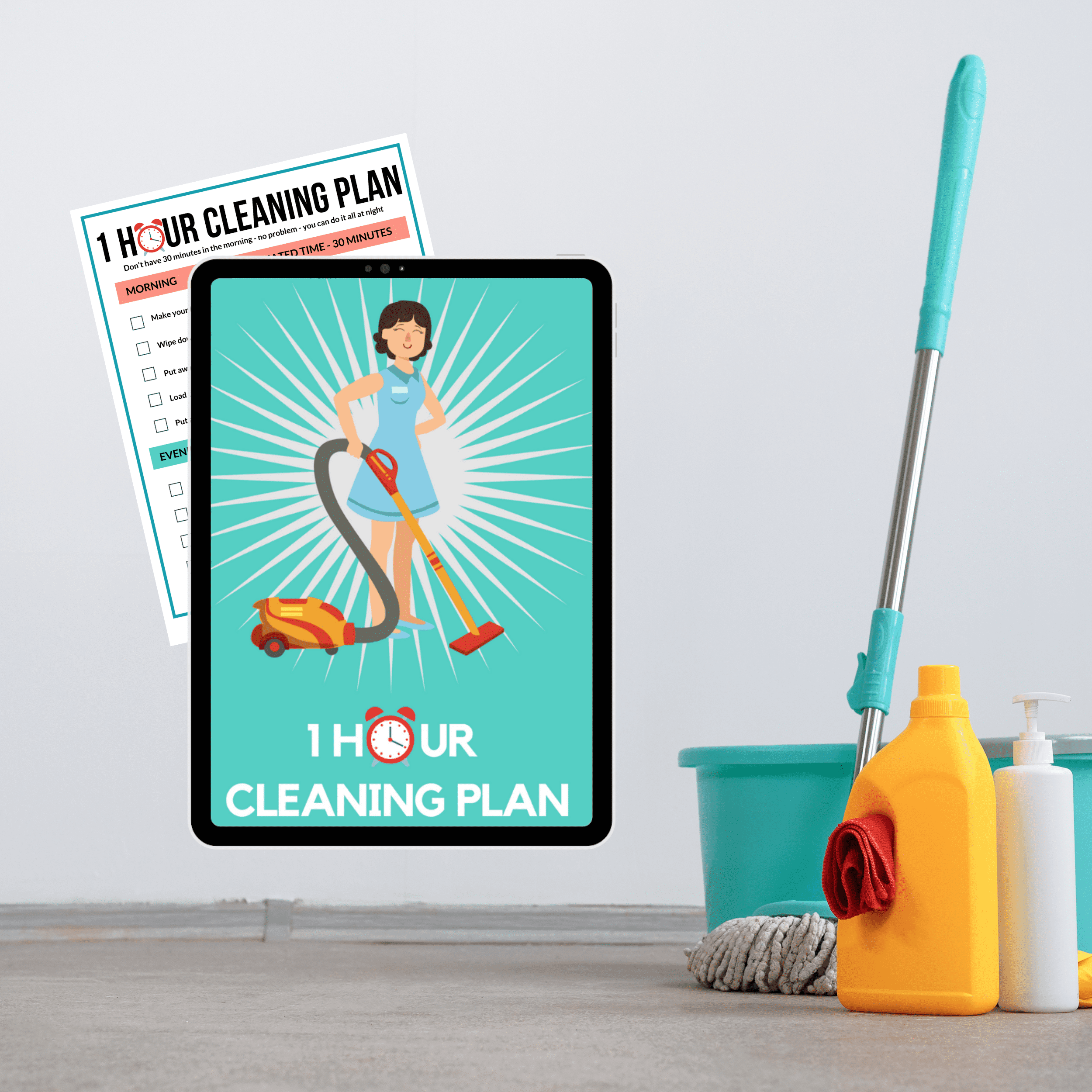 Get your cleaning done in under 1 hour