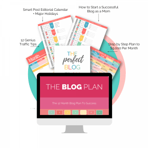 start a mom blog the blog plan