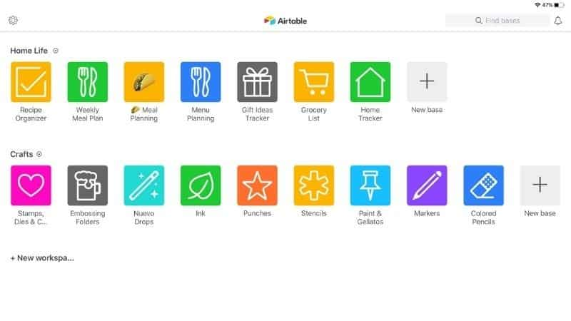 Streamline your homemaking with airtable