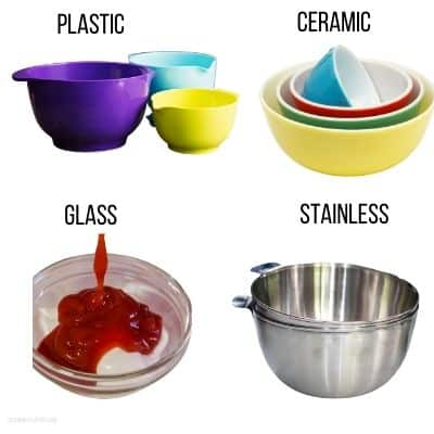 what is the best material for mixing bowls