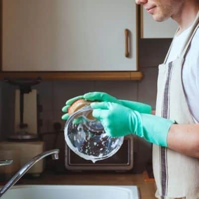 why is hand washing dishes better than using a dishwasher